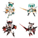 Desktop Army B-121s Sylphy II Series BOX of 4 MegaHouse