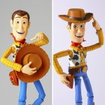 Legacy of Revoltech TOY STORY Woody Renewal Package Design Edition Kaiyodo