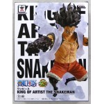 ONE PIECE KING OF ARTIST THE SNAKEMAN Monkey D. Luffy prize Banpresto