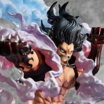 One Piece Portrait of Pirates POP (SA-MAXIMUM) Monkey D. Luffy Gear 4 Snakeman Megahouse Limited