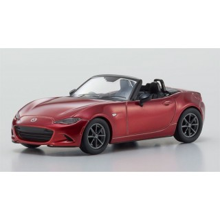 MAZDA ROADSTER RS 2015 Red 1/64 Kyosho
