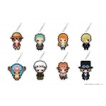 ONE PIECE PuchiBitto Strap Collection BOX Of 8 Chara-ani