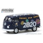 Volkswagen Type 2 Panel Van New Year 2020 1/64 GreenLight