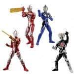 Choudou Ultraman 6 Pack of 10 Bandai