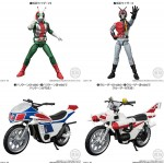 SHODO X Kamen Rider 7 Box of 10 Bandai