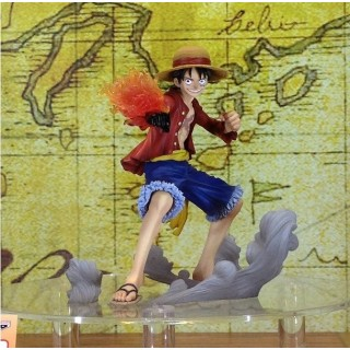 (T7E10) One Piece Ichiban Kuji Monkey D Luffy History of Luffy Banpresto