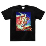 Mega Man Zero & ZX Double Hero Collection T shirt L Capcom