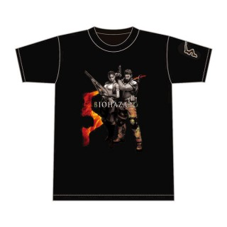 Resident Evil 5 T shirt Title Number L Capcom