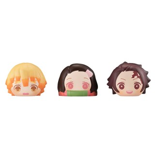 FukaFuka Sqeeze Bread Kimetsu no Yaiba Pack of 6 MegaHouse