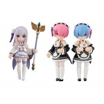 ReZERO Starting Life in Another World Desktop Army Pack of 3 MegaHouse