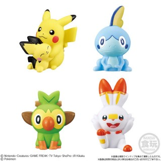 Pokemon Kids Depart! For the Pokemon World! Part Pack of 18 Bandai
