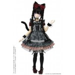 50 Tsukiyo no Itazura Neko Maid Set Bordeaux x Deep Gray 1/3 azone international