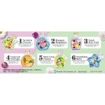 Kirby PUPUPU HERBARIUM Pack of 6 RE-MENT