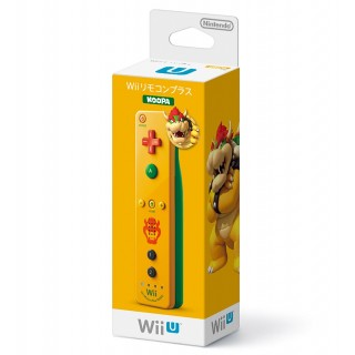 WII U REMOTE CONTROL PLUS NINTENDO BOWSER KOOPA NEW