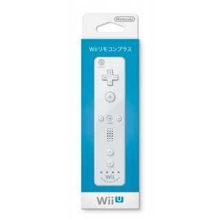 WII U REMOTE CONTROL PLUS NINTENDO WHITE NEW