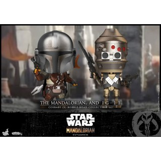 CosBaby Star Wars The Mandalorian Mandalorian And IG 11 Hot Toys