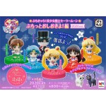 Petit Chara Sailor Moon Puchitto Oshioki yo Part 2020 ver. Pack of 6 MegaHouse