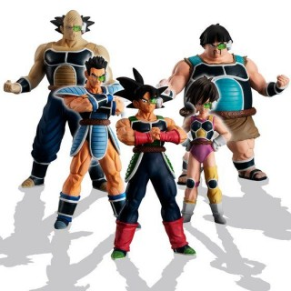 HG Dragon Ball Gather! Bardock Corps (Team) Bandai limited