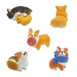 ANIMAL LIFE Choconto Series The Daily Corgi Pack of 6 Yendar