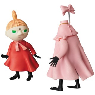 Ultra Detail Figure Moomin UDF MOOMIN Series 6 Little My and Ninny Medicom Toy