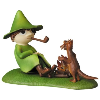 Ultra Detail Figure Moomin UDF MOOMIN Series 6 Snufkin and Teety Woo Medicom Toy