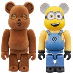 BEARBRICK TIM And BOB 2PACK Despicable Me 3 Medicom Toy
