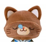 Code Geass Resurrection with CAT Plush Keychain with Eye Mask Suzaku Movic