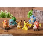 Pokemon Wood Sculpture Pack of 6 Gray Parka Service