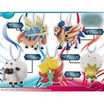 Pokemon Ball chain Mascot Galar Region Pack of 10 Takara Tomy A.R.T.S