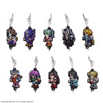 Final Fantasy Dot Rubber Strap vol.2 Pack of 10 Square Enix