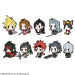 Final Fantasy Trading Rubber Strap FF VII EDITION Pack of 10 Square Enix