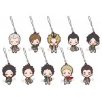 Nitotan Haikyuu!! Uniform Date Tech High School Rubber Mascot Pack of 10 Takara Tomy A.R.T.S