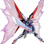 Metal Robot Damashii (Side MS) Wing of Light and Effect Set For Destiny Gundam Bandai Limited