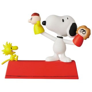 Ultra Detail Figure Peanuts No 546 UDF PUPPET SNOOPY and WOODSTOCK Medicom Toy
