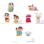 Crayon Shin chan Friends Mini Figure Pack of 12 Bandai