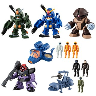 Mobile Suit Gundam Micro Wars 5 Pack of 10 Bandai