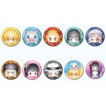 CAN Badge Kimetsu no Yaiba Odango Series B Pack of 10 Bandai