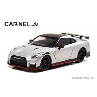 Nissan GT R NISMO 2020 Ultimate Metal Silver 1/64 CAR-NEL