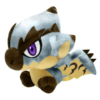 Monster Hunter Deformed Plush Silver Rathalos Capcom