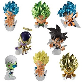 Dragon Ball Chou Senshi Figure 3 Pack of 12 Bandai