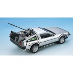 Movie Mecha No BT 01 Back To The Future DeLorean Part I 1/24 Plastic Model Kit Aoshima