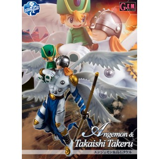 GEM series Digimon Adventures Angemon and Takaishi Takeru Megahouse collector