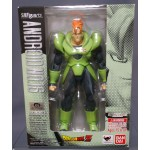 S.H. Figuarts Dragon Ball Z Android No.16 Cyborg C16 Bandai Limited USED