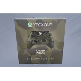 (T6E5) XBOX One controller Armed Forces Green Microsoft