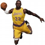 MAFEX No 127 Lebron James Los Angeles Lakers Medicom Toy
