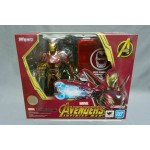 S.H Figuarts Iron Man Mk 50 Nano Weapon Set Avengers Infinity War Bandai Limited