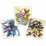 Digimon Shikishi ART Pack of 10 Bandai