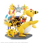 G.E.M. EX Series Pokemon Electric Type Electric power! MegaHouse