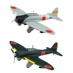 Series No.39 Aichi Type 99 Carrier Bomber Model 11/Model 22 Plastic Model 1/72 Fujimi