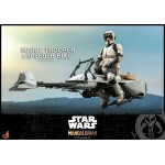 Masterpiece Star Wars TV Mandalorian Scale Figure Scout Trooper & Speeder Bike 1/6 Hot Toys